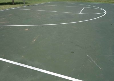 Frontier Park Basketball Before
